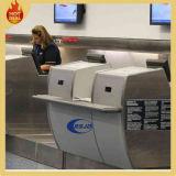 空港商業サービスチェックインの専用カウンター