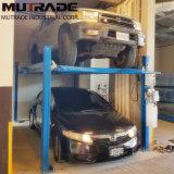 ガレージは頑丈な上昇4の郵便車の駐車起重機を使用した