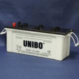 高品質JIS標準N120 12V120ahは満たされたカー・バッテリーを乾燥する