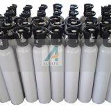 Tailles oxygène-gaz en aluminium de cylindre de constructeur