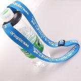 Индивидуальные рекламные подарок держатель ремешка комбинации резиновые металлический крюк веревки