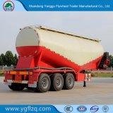 Tanker van het Cement van het bulkPoeder 40-65m3 de Verticale Bulk/Aanhangwagen van de Vrachtwagen van de Tank de Semi