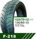 [سكوتر] إطار العجلة درّاجة ناريّة إطار العجلة 130/60-13 نوع بدون أنبوبة