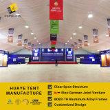 Grande una tenda di mostra della pagina con la decorazione per le attività promozionali (hy014b)