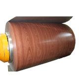 Couleur RAL PE bobine en acier recouvert de couleur aluminium