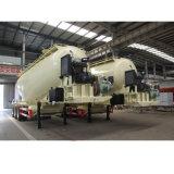 Motor van Compressor&Diesel installeerde Aanhangwagen van het Cement van Drie Assen de Bulk