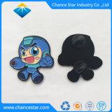 Custom Design desenhos animados Monograma Pin de lapela esmalte suave
