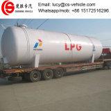 ナイジェリアのための地上LPGの弾丸タンクの上の40tons 80000リットルの