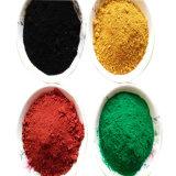 Grado de la construcción de rojo y negro de óxido de hierro en polvo de ladrillo amarillo