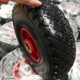 3.00-4 편평한 자유로운 PU 거품 바퀴
