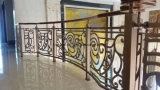 Scale di alluminio decorative su ordinazione di Ballustrade che recintano dalla fabbrica della Cina
