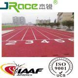 Renbaan van de Hoge Prestaties Iaaf van Guangzhou 2017 de Rubber Atletische