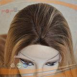 Los encajes de la Moda Artesanal puro Remy Cabello Humano encaje frontal peluca.