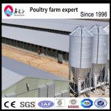 Matériel agricole de ferme avicole en acier préfabriquée de poulet