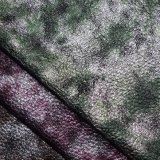 柔らかいLitchiの穀物総合的な革ファブリック靴袋の織物