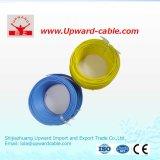 Tipo contínuo fio elétrico do cobre (PVC 1.5mm2 isolado)