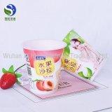 Edição especial Iogurte copos descartáveis de plástico