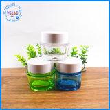 Frasco de creme cosmético acrílico personalizado do empacotamento plástico