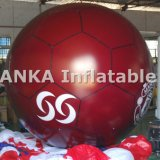 Globo inflable de la bola del globo del balompié del PVC para la demostración