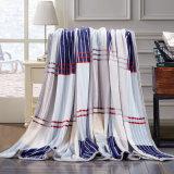 フランネルの羊毛毛布のカスタム安く柔らかいMicrofiberの羊毛毛布