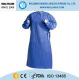Устранимая мантия SMS/SMMS/Spunlace хирургическая