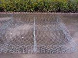 Rete metallica esagonale rivestita del PVC o galvanizzata Gabion