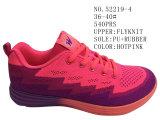 Quatre couleurs pilotent des chaussures de couples de chaussures de sport de Knit