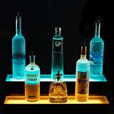 Plinth acrylique coloré d'Afficheur LED pour des barres, marchandises Point of Sale d'étalage pour le vin