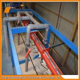 Linha de revestimento de alumínio automática vertical do pó