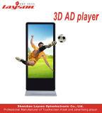 55 pouces LCD permanent Sol intérieur Network Media Player de la publicité vidéo plein écran LED de couleur, la signalisation numérique multimédia