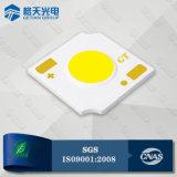 COB LED blanc naturel 2W 1313 Type 140lm/W miroir de base en aluminium avec de petits zone lumineuse