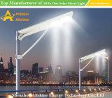 政府は80W屋外ランプの庭の照明のためのオールインワン統合されたLEDの太陽街灯を写し出す