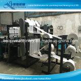 Hochgeschwindigkeitswärme-Ausschnitt-Shirt-Plastiktasche, die Maschine herstellt