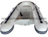 V de aluminio rígido casco bote hinchable con la parte delantera de roscas (CE)