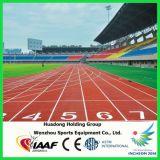 IAAF prefabricada de caucho Suelos de goma para riel de la pista, Pista Atlética
