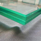 12mm Low-Iron transparente de vidro laminado temperado