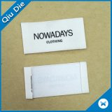 Атласная белая плакатная бумага для печати этикеток для одежды на ярлыке символы ткань