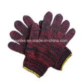 Рабочая хлопка защитные перчатки трикотажные Multi-Color стороны перчатки