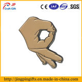 Можно настроить форму руки булавка для продажи
