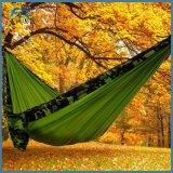 Camper portatif extérieur d'hamac en nylon avec Carabiners