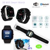 3G het Slimme Horloge van WCDMA WiFi Bluetooth met Kaart SIM (N8)