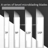 眉毛のMicrobladingの入れ墨のためのステンレス鋼の斜角Microbladingの鋭い刃