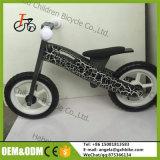 Brinquedo de madeira da bicicleta do balanço da madeira compensada Handmade clássica da bicicleta dos miúdos com o pneu de 12 polegadas