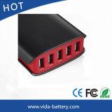Multi Kanal-Adapter-Arbeitsweg-Wand Wechselstrom-Versorgung Großbritannien-Stecker der Kanal USB-Aufladeeinheits-5