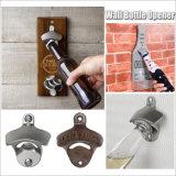 昇進の安いカスタムブランク鋳鉄の金属ビール壁の台紙のKeychainの栓抜きの部品