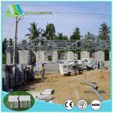 Materiales de construcción compuestos incombustibles de la tarjeta de la pared del cemento del emparedado de Aseismatic de la base sólida