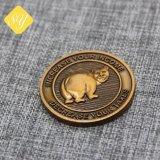 Kundenspezifische preiswerte Großhandelsmünze des Bonne Litecoin Gedenkmetall3d