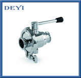 Sanitation Stainless Steel Not Retaining Ball Valve