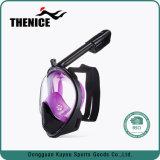 2018 Novo Mergulho submarino Anti máscara de mergulho facial completo nevoeiro Piscina Snorkelling