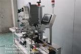 Machine à étiquettes de première surface pour l'étiquette mise sur le couvercle en plastique